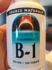 Source Naturals B-1, High Potency