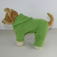 PRINTED KNITTING INSTRUCTIONS - SMALL DOG HOODIE ROMPER COAT KNITTING PATTERN