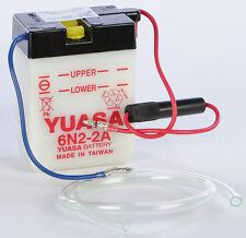 YUASA BATTERY 6N2-2A YUAM2620A Fits: Honda NC50 Express,NA50,CA100