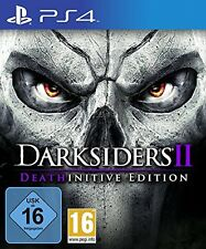 DARKSIDERS 2-deathinitive Edition-ps4 playstation 4-NEUF emballage d'origine