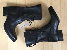 Carpe Diem Maurizio Altieri Women Lace up Boots Horse Leather New