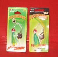 2DANG-BLY 2 lures Hildebrandt Spin Dandy 1//6 oz Yakima Bait Lure Your getting