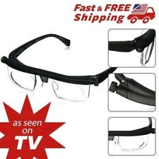 As Seen on TV The Instant 20/20 Vision Adjustable Glasses see Reading Watching