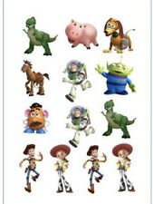 1x Toy Story Temporary TATTOO Sheet. Party Supplies Cake Lolly Loot BAG Woody