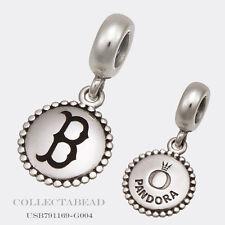Authentic Pandora Sterling Silver Boston Red Sox MLB Dangle Charm USB791169-G004