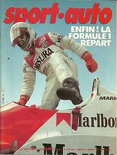 SPORT AUTO N° 231 - AVRIL 1981 - OPEL ASCONA - GOLF GTI