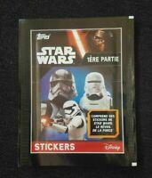 Topps 1 Tüte Star Wars Pack Sobre Packet Bustina Pochette Panini Sticker Disney