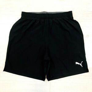 Men's Puma Black Reflective Running Shorts Size S