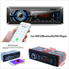 In-Dash Bluetooth Car Stereo Audio Radio MP3 Player FM SD USB AUX Input +Remote