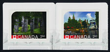 Canada 2743-4 MNH UNESCO World Heritage Sites, Rideau Canal