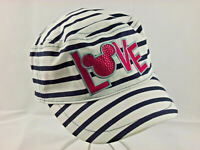 Adult Disney Parks Mickey Minnie Mouse Love Card Baseball Cap Hat Snapback Pink