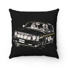 Volvo Rally Sketch Pillow