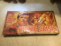 The Six Million Dollar Man Board Game Bionic Crisis NEW SEALED 1975 Vintage NIB