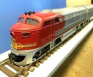 RIVAROSSI 'O' Gauge 2-Rail Santa Fe C-Line Diesel Locomotives - Powered & Dummy