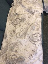 TAHARI Queen/Full Duvet Set with Shams, Floral Paisley Boho