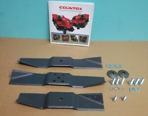 "GENUINE Countax 36"" + 38"" K SERIES C SERIES Blade Kit 40505200 FREE DELIVERY"