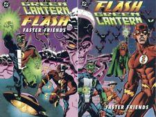 Green Lantern Flash Faster Friends Set Part 1 & 2 Lost Marz Mark Waid Ron Lim NM