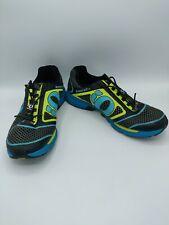 Pearl Izumi Cycling Shoes Men's Size 9.5 43 EUR Black/Blue/Green
