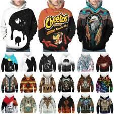 3D Print Hooded Hoodie Girls Boys Sweat Shirt Top Kid Sweatshirt Pullover Jumper