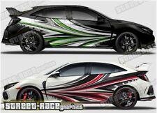 Honda Civic Rally 021 racing motorsport graphics stickers decals vinyl
