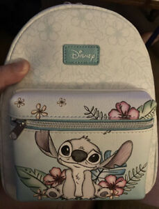 LOUNGEFLY DISNEY STITCH HIBISCUS SKETCH MINI BACKPACK