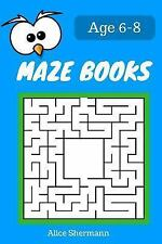 MAZE Book for Kids Ages 6-8 : 50 Maze Puzzle Games to Boost Kids' Brain,...