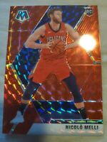 2019-20 Mosaic Nicolo Melli 3 Rookie Card Lot New Orleans Pelicans Base & Prizm