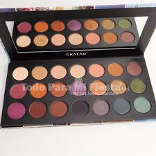 Okalan Wonderful Journey Eyeshadow Palette High Pigment Warm Tones Makeup Colors