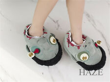 Creative Slippers Horrible Zombie Kyonshi Plush Indoor Slippers Warm Shoes