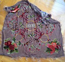 Joop ! Tuch Designer Seidentuch Original Seide mit Viskose Haar Neu aus Italien