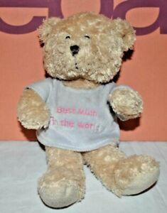 "Best Mum In The World 8"" Teddy Bear Plush Toy"
