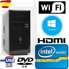 Ordenador Sobremesa PC Intel 16GB RAM  HDMI  2gb, USB 3.0, wifi, WINDOWS
