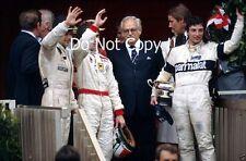 Riccardo Patrese Brabham BT49D Winner Monaco Grand Prix 1982 Photograph 4