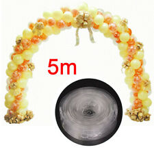 5M DIY Balloon Arch Kit Balloons Column Stand Frame Base Pole Ballons Clips Tape