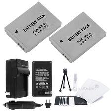 2x NB-5L Battery + Charger + BONUS for Canon PowerShot SX200 SX210 SX230 S100