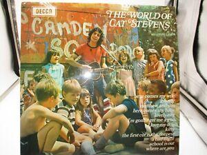 "Cat Stevens ""The World of..."" LP Decca SPA93 UK Import 1970 NM Ultrasonic Clean"