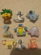 ULTRA RARE pokemon Collectors Case Hasbro 1998 Mini Figures Loose Numbered