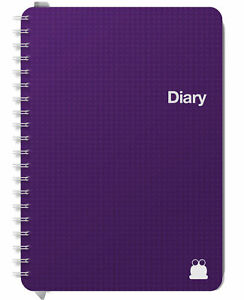 A5 & A4 Mid-Year 2021-2022 Diaries. Week-Views, Day to a page & 2 Days per page