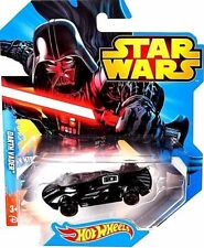 New Disney Hot Wheels Star Wars Darth Vader Collectible Race Car