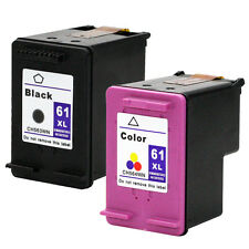 2PKs HP 61XL 61 XL Ink Cartridges For Deskjet 1055 1056 1510 1512 2050 2510