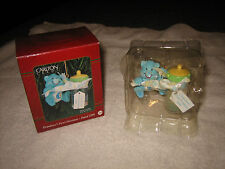 CARLTON CARDS HEIRLOOM COLLECTION 1999 GRANDSON'S FIRST CHRISTMAS ORNAMENT