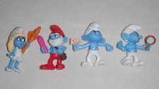 Schtroumpfs figurines ~ peyo 2013 ~ mcdonalds ~ kinder surprise eggs toys
