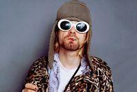 Clout Goggles Glasses Vintage White Kurt Cobain Oval Sunglasses FREE SHIPPING