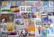 MALTA 250 All Different Used Thematic Stamps, Mostly Large