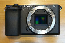 Sony Alpha A6300 24.2 Mp mirrorless 4K Camera body and case. Only 12 months old.