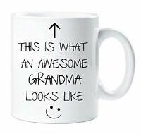 This Is What An Awesome Grandma Looks Like Mug Gift Xmas Cup
