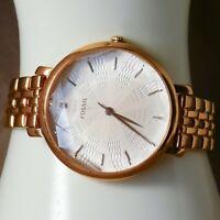 """ES3860 Fossil Jacqueline Women's watch Rose Gold 38 mm 7"""" Quartz (Battery)"""
