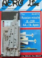 PLUS MODEL AL4019 Russian Missile R-23R AA-7A Apex in 1:48