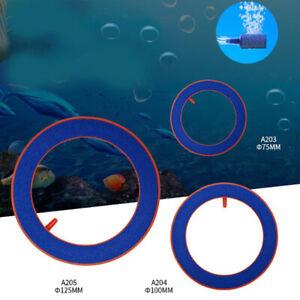 Aquarium Fish Tank Increase oxygen Round Air Pump Bubble Disk Ring Stone WNF