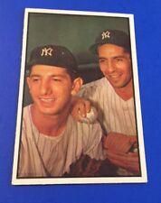 1953 Bowman Color Phil Rizzuto/Billy Martin #93 NY Yankees Baseball Card EX+